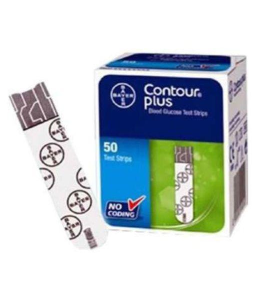 Тест ленти за глюкомер Bayer Contour Plus 50 броя
